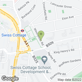 Map of Swiss Cottage Pre-School in London, london