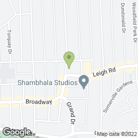Map of Leigh Garden Centre in Leigh-On-Sea, essex
