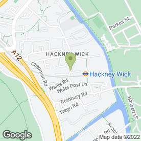 Map of Any Parts in Hackney Wick, London, london