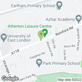 Map of DASL in London, london