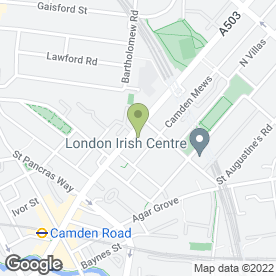 Map of P Vel String Instruments in London, london
