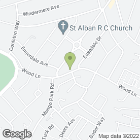 Map of Wood Lane Medical Centre in Hornchurch, greater london