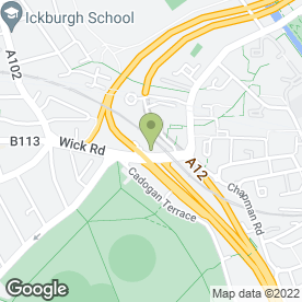 Map of HACKNEY VAN & TRUCK MOT & REPAIRS CENTRE in London, london