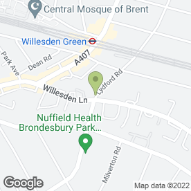 Map of No 1 Dental Clinic Ltd in London, london