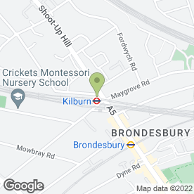 Map of KILBURN AUTO CENTRE LTD in London, london