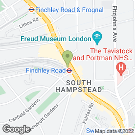 Map of PizzaExpress in Swiss Cottage, London, london