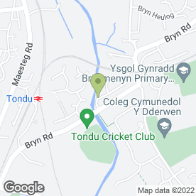 Map of Combicare in Tondu, Bridgend, mid glamorgan