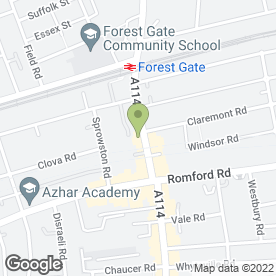 Map of Debron Cosmetics & Photographic in Forest Gate, London, london