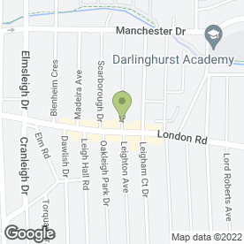 Map of 1ST CLARE DRIVING SCHOOL in Leigh-On-Sea, essex