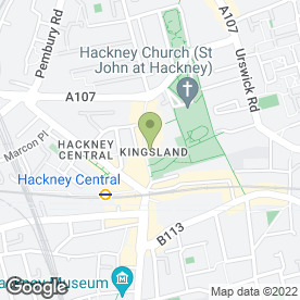 Map of Hackney Discount Jewellers in London, london