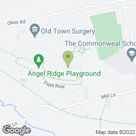 Map of RB Professional in Swindon, wiltshire