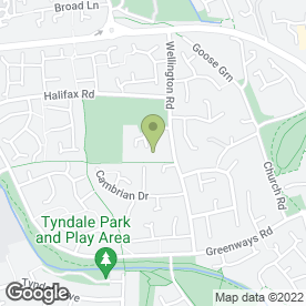 Map of Wellington Road Family Practice in Yate, Bristol, avon