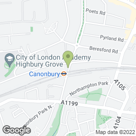 Map of Goddard Veterinary Group in London, london