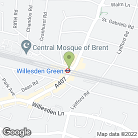 Map of Cutting Crew in London, london