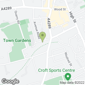 Map of NSLBoxing in Swindon, wiltshire