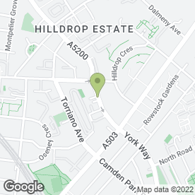 Map of Brecknock Dental Surgery in London, london
