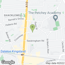 Map of North London Plant Hire in London, london