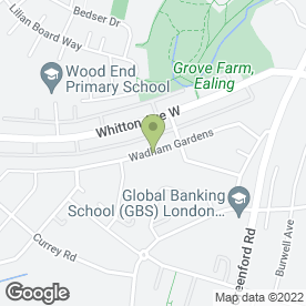 Map of BEAUTY SOLUTIONS in Greenford, middlesex