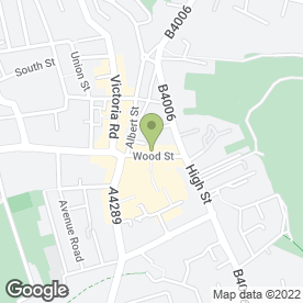 Map of Twisted in Swindon, wiltshire