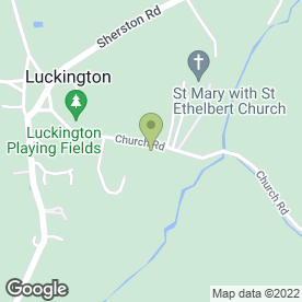 Map of West Country Cash Registers in Luckington, Chippenham, wiltshire