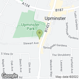 Map of Corbets Tey Dental Practice in Upminster, greater london