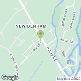 Map of A.W Smith in Denham, Uxbridge, middlesex