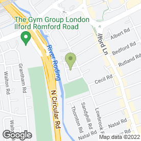 Map of Rajwalak (UK) Ltd in Ilford, greater london