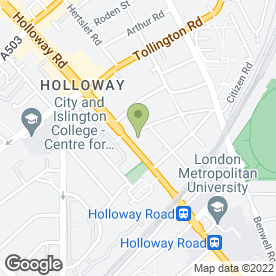 Map of McDonald's Restaurants Ltd in London, london