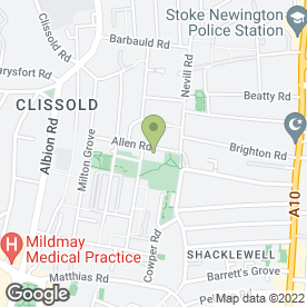 Map of London Trowel Co. in Stoke Newington, London, london