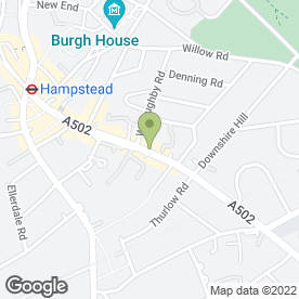 Map of HAMPSTEAD PODIATRY CLINIC in London, london
