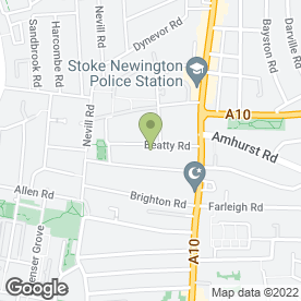 Map of Greengage Garden Services in London, london
