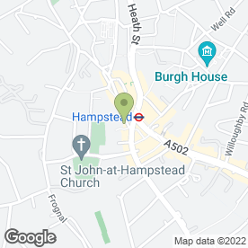 Map of Everyman Hampstead in Hampstead, London, london