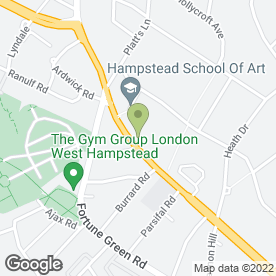 Map of Hampstead Aerials & Satellites in London