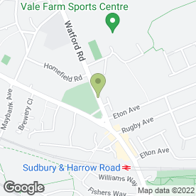 Map of A.A.S Hogan Electrical Contractors in Wembley, middlesex