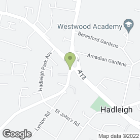 Map of O.I.W. (Steels) Ltd in Benfleet, essex