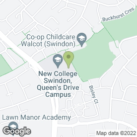Map of Tae Kwon-Do & Self Defence in Swindon, wiltshire