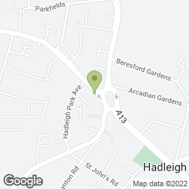 Map of ANP SOLICITORS in Benfleet, essex