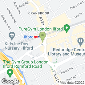 Map of Dixy Chicken in Ilford, greater london