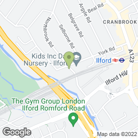 Map of Maytime Montessori Nursery & Preparatory School in Ilford, greater london