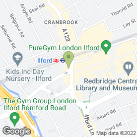 Map of Spice Corner in Ilford, greater london