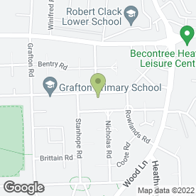 Map of Tip 2 Toe Beauty in DAGENHAM, greater london