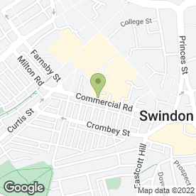 Map of Lloyds TSB Bank plc in Swindon, wiltshire