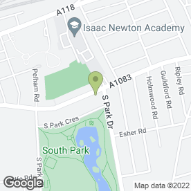 Map of South Park Removal Service Ltd in Ilford, greater london