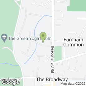 Map of JW Architects Ltd in Farnham Common, Slough, berkshire