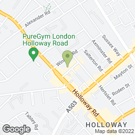 Map of Holloway Plumbing & Heating - Boiler Breakdowns in London, london
