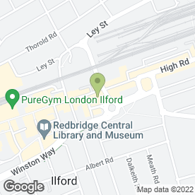 Map of Lervinia Jack Photography in Ilford, greater london
