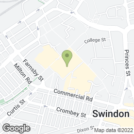 Map of Plaza Pets in Swindon, wiltshire