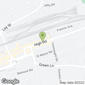 Map of Boots Hearing Care in Ilford, greater london