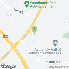 Map of Briant Tyres & Exhaust Services in Bristol, avon