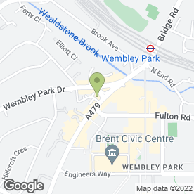 Map of Zorka Jankova in Wembley, middlesex